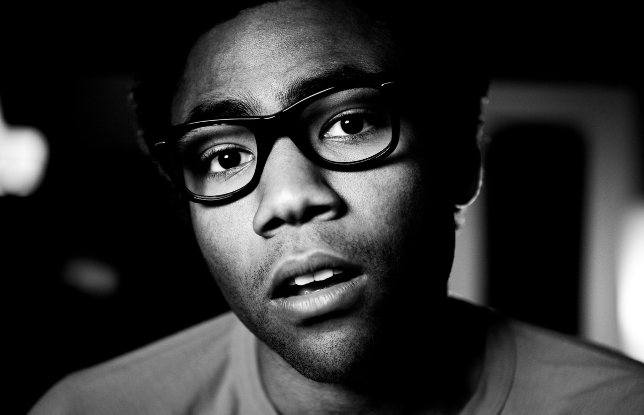 Childish Gambino Black/White