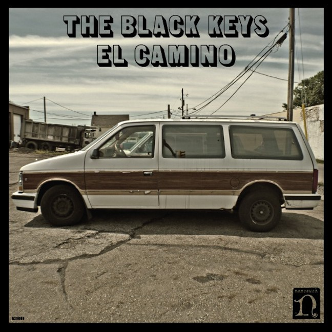 The Black Keys - El Camino - 6.12.2011 - cover art sodwee.com
