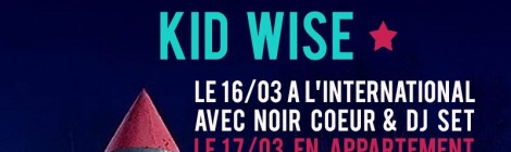 KID WISE : live in Paris !