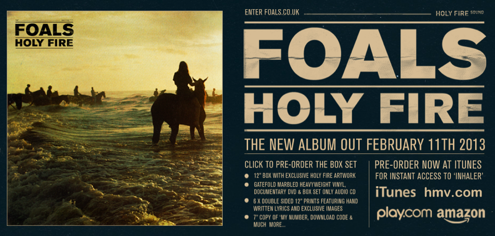 FOALS - Holy Fire - Sodwee.com