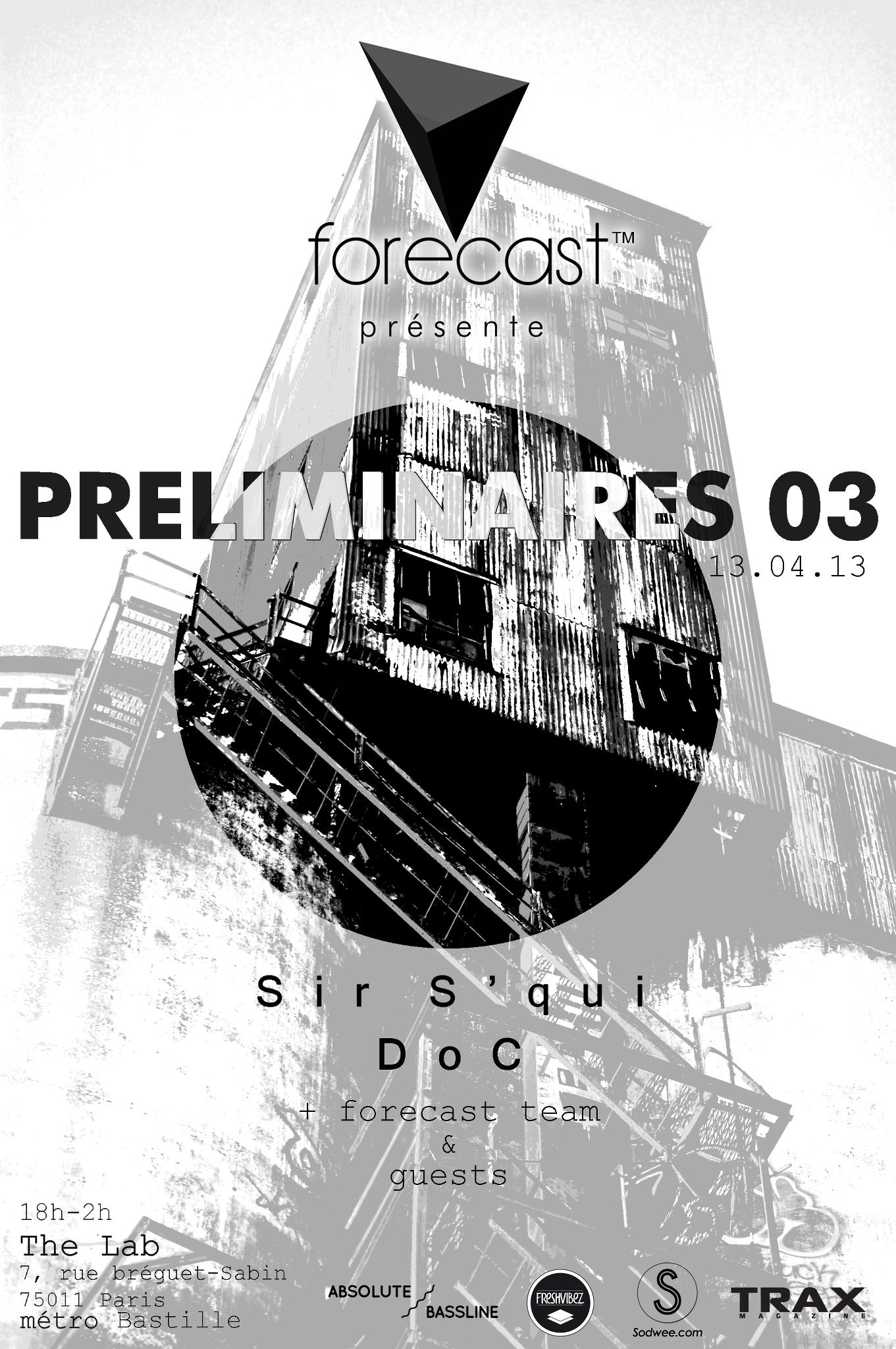 forecast - PRELIMINAIRE 03 at The Lab