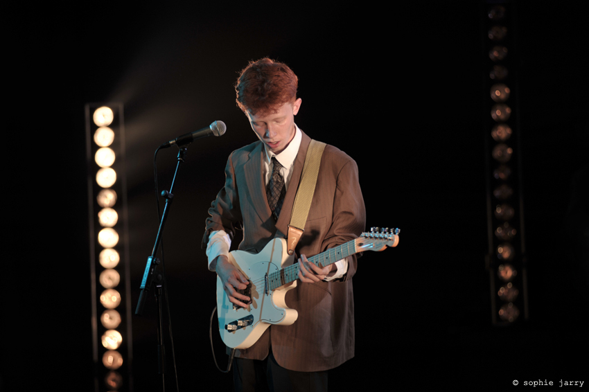 King Krule - Paris - Studio 104 - 26/08/2013 © Sophie Jarry