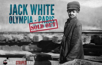 Jack White - Olympia Paris - June 29 / 30